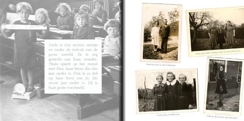 herinnering voorbeeldpagina tarieven prijzen herinneringsboek fotoboek boek laten maken