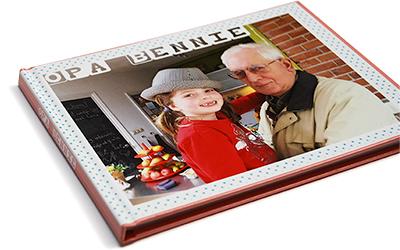 Voorkant herinneringsboek -opa bennie-