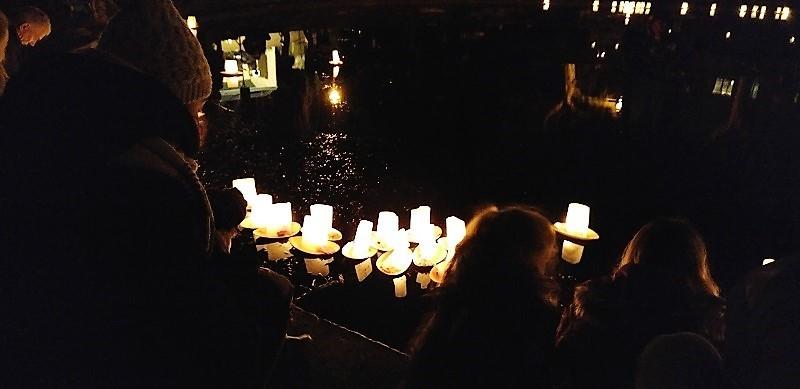 wereldlichtjesdag - ter nagedachtenis aan overleden kinderen