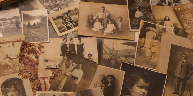 oude fotos foto geschiedenis familie familiegeschiedenis rouw rouwverwerking